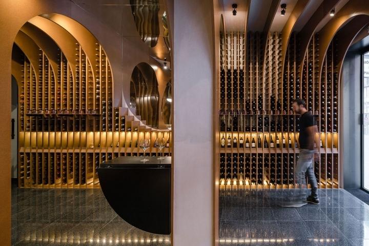 Vinoteca Wine Store By Zooco Estudio Vallaloid Spain