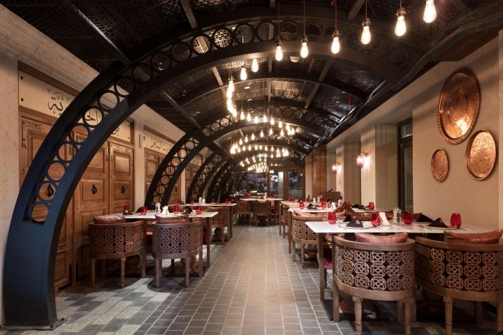 Al hamidieh restaurant at marsa seef by space design