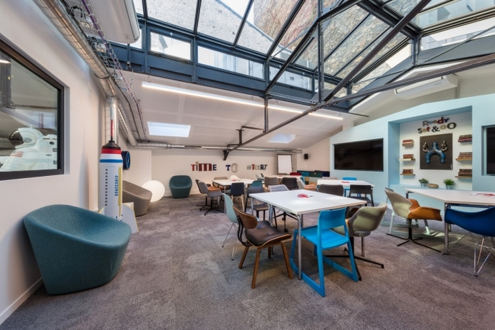 Comet Meetings Office By Artdesk Group Paris France