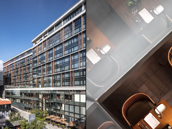 Cordis hotel by ltw designworks hongqiao shanghai for Design hotel shanghai