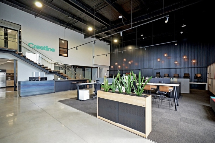 187 Crestline Offices And Showroom By Yellow 6 Design