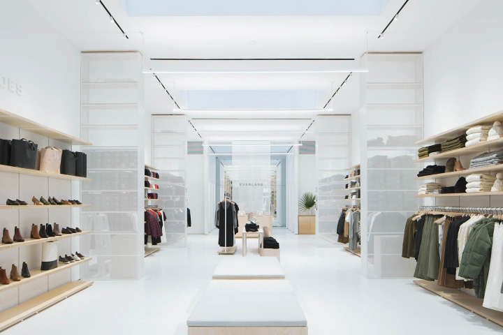 everlane store by leong leong manhattan new york retail design blog