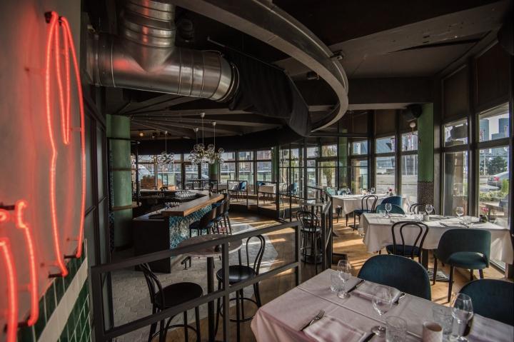 Langoest fish restaurant by horeca sfeermakers rotterdam