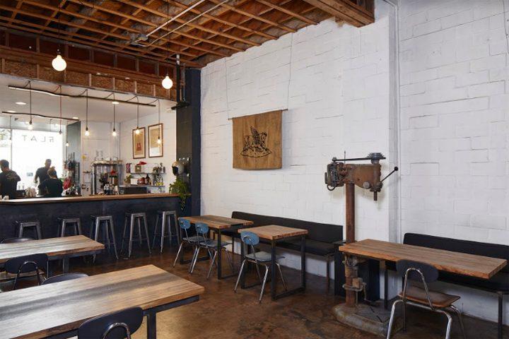 Flat Track Coffee By Lilianne Steckel Interior Design Austin Texas