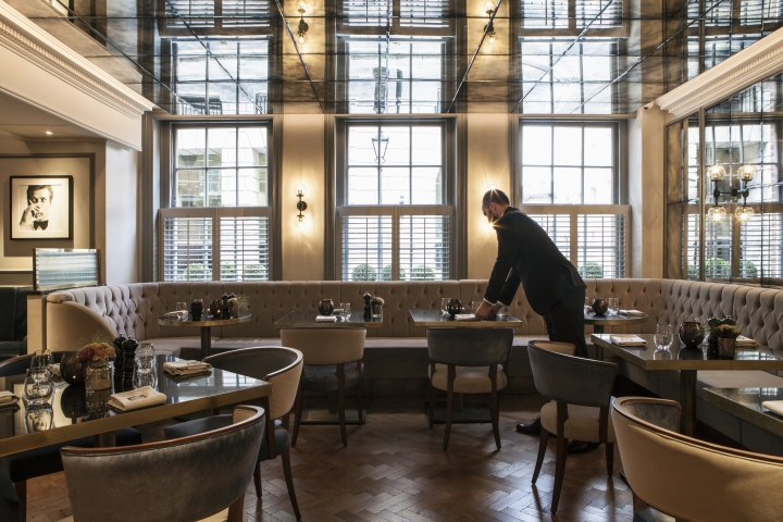 187 Gbr Restaurant At Dukes Hotel London By Designlsm
