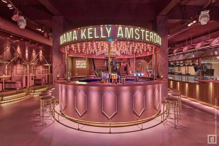 商业空间设计|阿姆斯特丹MaMa Kelly餐厅设计