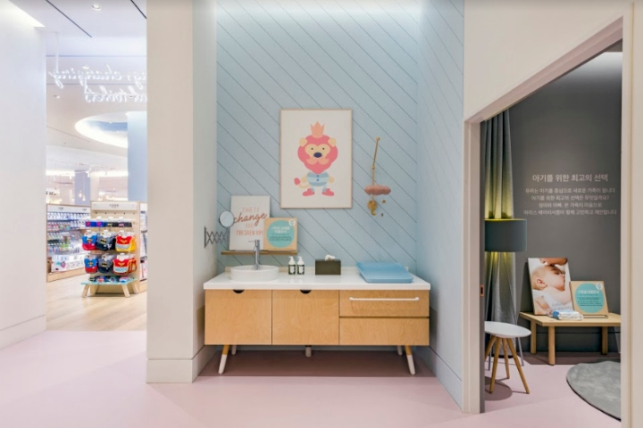 South Korean brand Marie s Baby Circle has opened a second store designed  by Dalziel   Pow, evolving the retail concept that places new and expectant  ... cde28f4067e