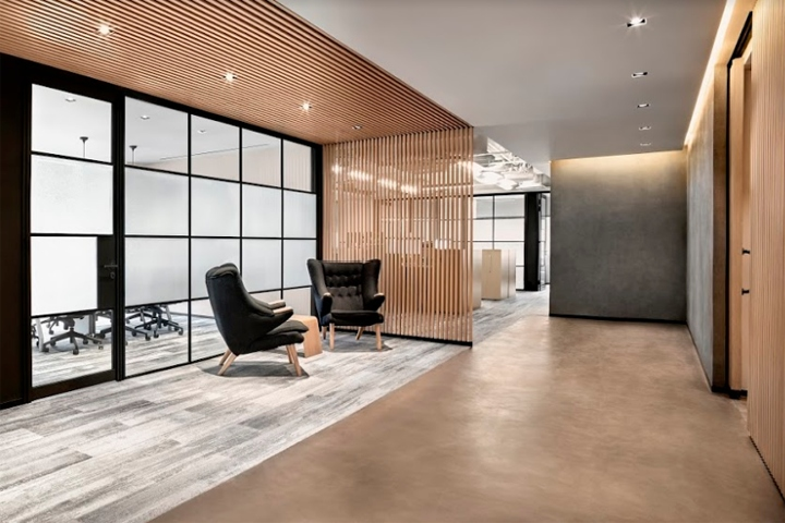Office For Boutique Investment Firm By Dymitr Malcew Singapore