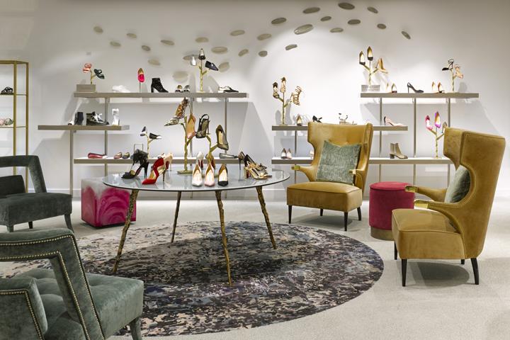 Saks Fifth Avenue store  Connecticut. store design   Retail Design Blog