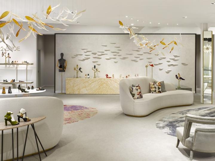 商业空间设计|萨克斯第五大道精品店设计