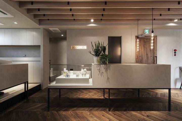 商业空间设计|日本BaLon.tre美容院设计