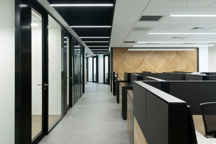 Design Bank 2 Zits Lugo.Acord Insurance Office By Alter Architects Azur Israel