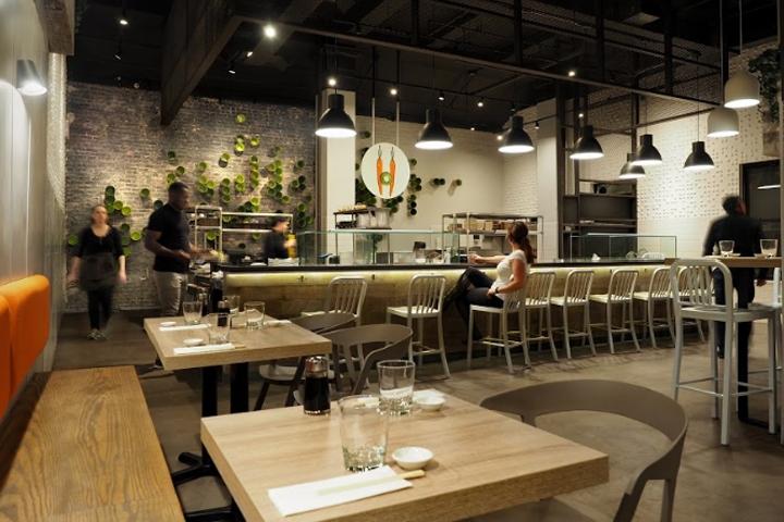 商业空间设计|纽约Beyond Sushi餐厅设计