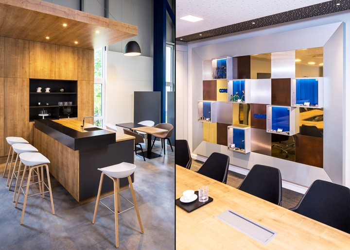 Conec cafeteria and conference by kitzig interior design for Kitzig interior