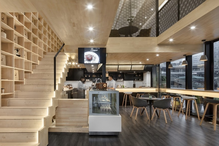 Daodao Coffee By Had Architects Epos Intime City Chengdu China