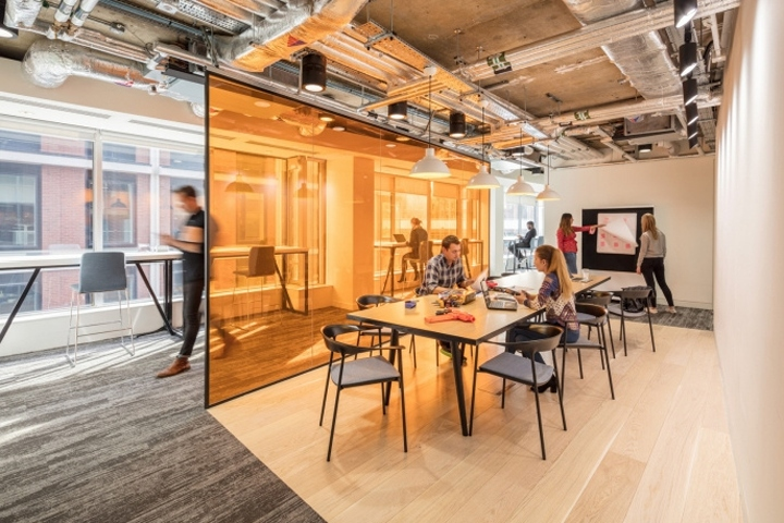 187 Edelman S Office Expansion By Gensler London Uk