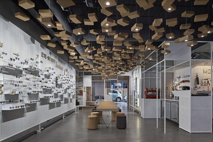零售空间设计|土耳其Eye-D眼镜店设计