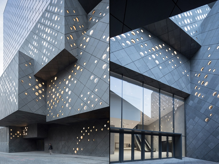 Guardian art center by b ro ole scheeren bejing china for Architecture buro