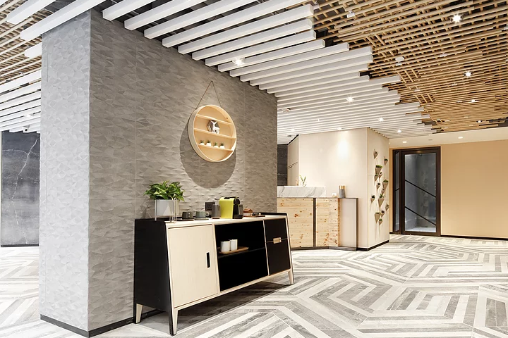 initially a commercial building now transformed into a teahouse like hotel located in kwai chung the concept is to bring in different elements such as