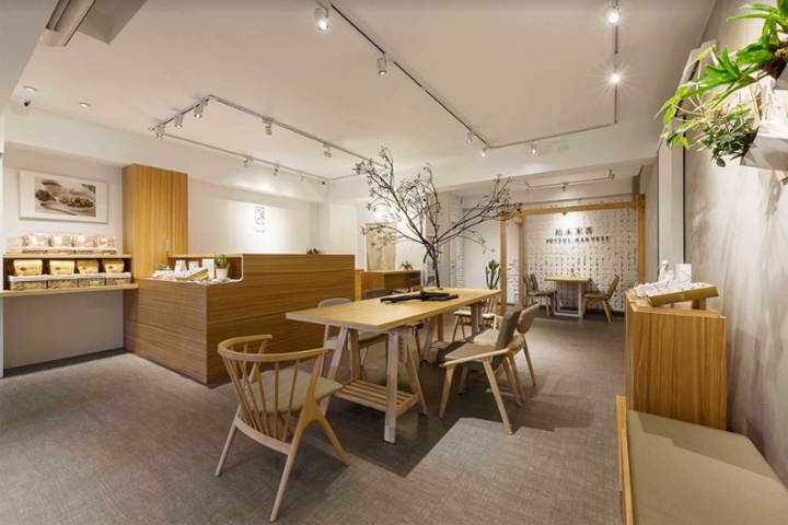 店面设计|台湾拾禾米香餐厅设计