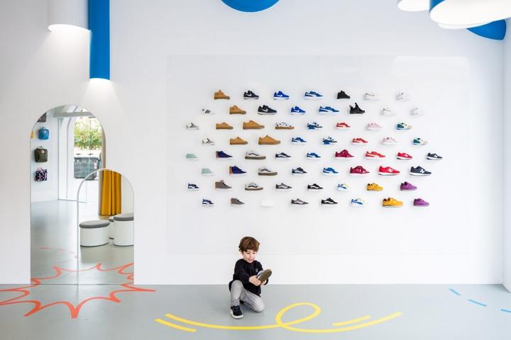 Little Stories shoe store by Clap