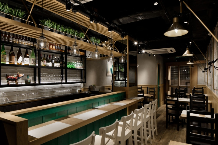 Porker bar restaurant by studio c8 hong kong - Bar cuisine studio ...