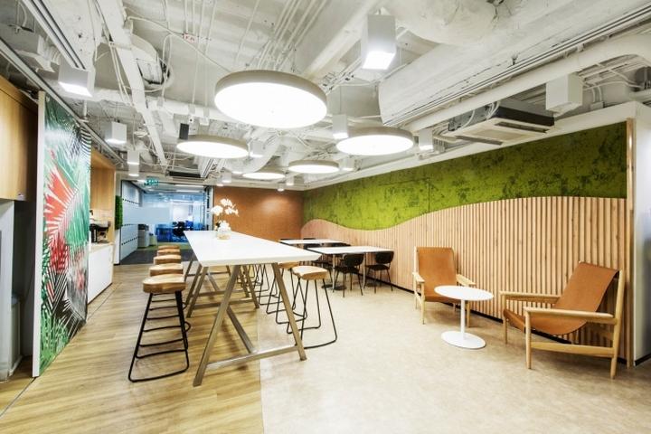 Samsung Office By Mada Design Factory Bangkok Thailand