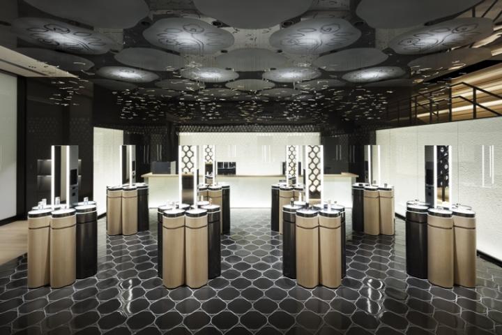 商业空间设计|东京资生堂沙龙设计
