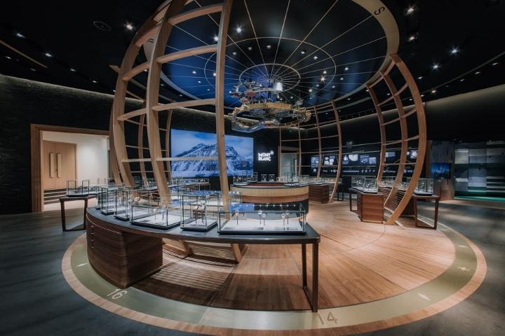 日内瓦万宝龙腕表展厅设计