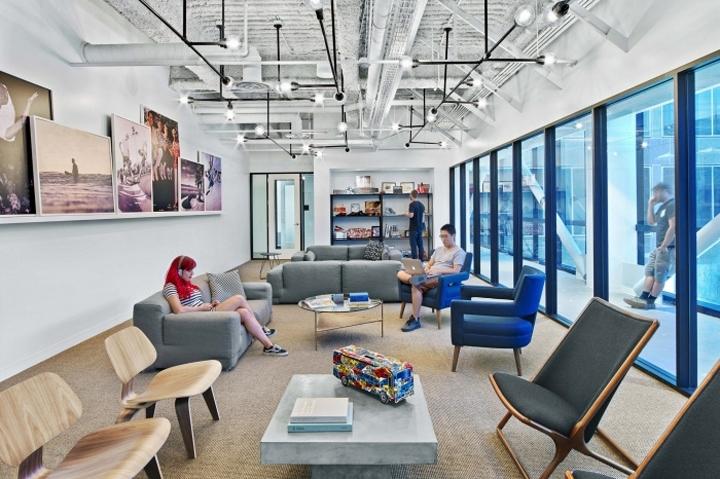 84284ec99e8 Rapt Studio designed the new headquarters for skateboarding brand and shoe  manufacturer Vans