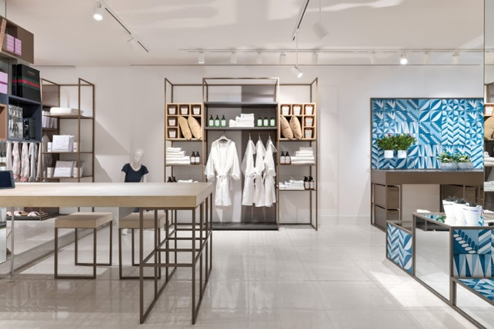 Yamamay concept store by piuarch milano italy for Store design milano