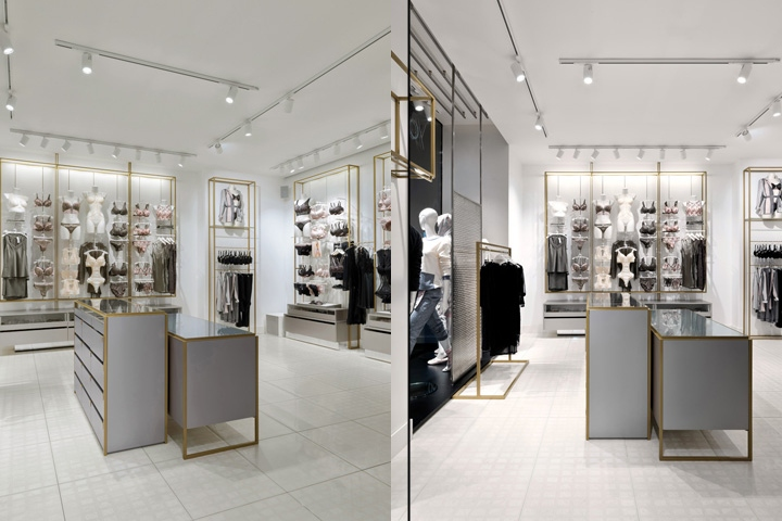 Yamamay concept store by piuarch milano italy retail for Store design milano