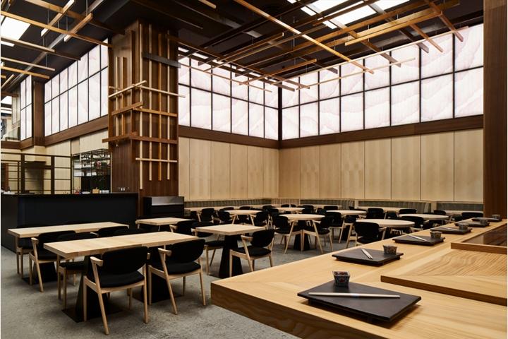 Yen restaurant by sybarite london uk retail design