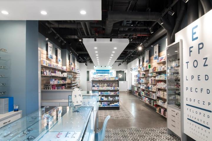 纽约i+care Pharmacy药房设计