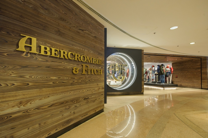 Abercrombie   Fitch store by ISG, Hong Kong a6499c5806