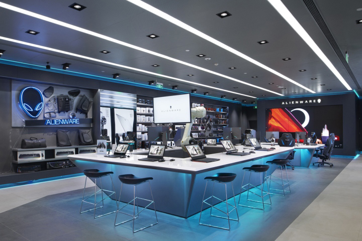 187 Alienware Flagship Store By Gramco Chengdu China
