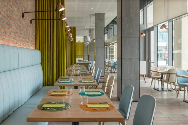 Aloft restaurant by Kinnersley Kent Design Al Ain United Arab