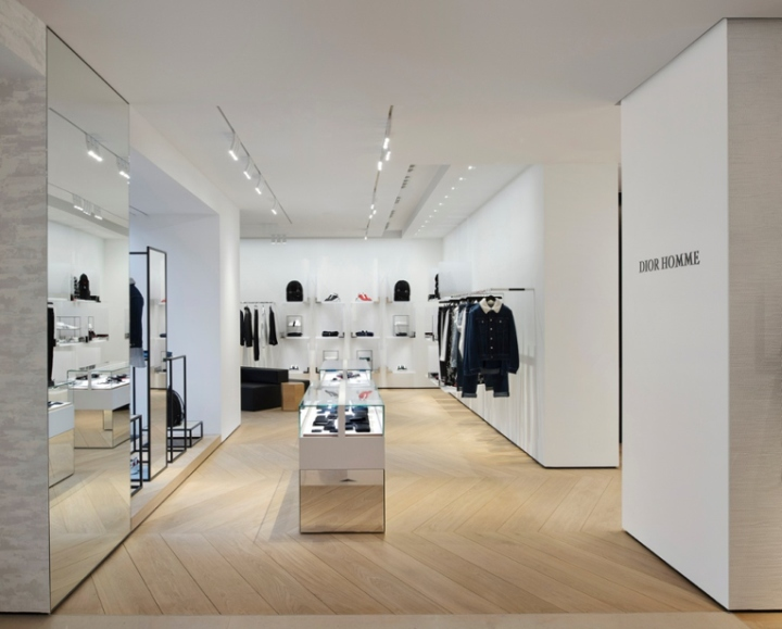 dbac7235920c The interior design takes cues from the the Dior flagship store on avenue  Montaigne in the French capital