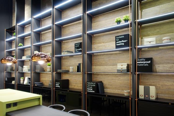 德国汉诺威Finzzi地板店设计