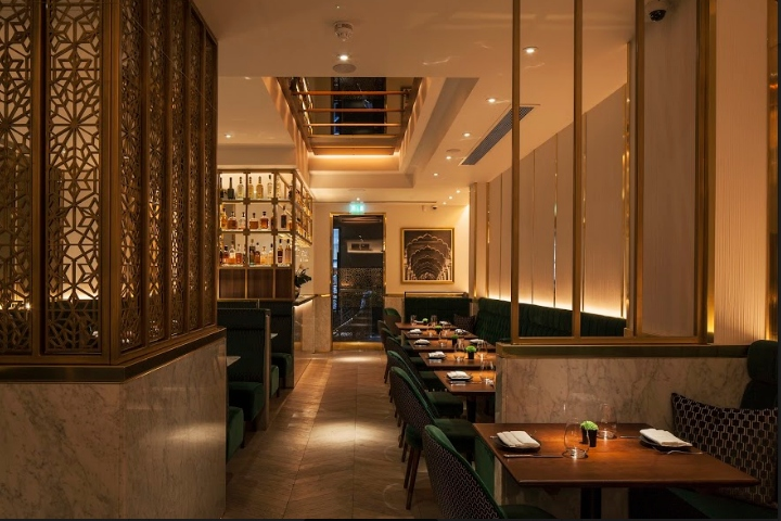Indian accent restaurant by designlsm london uk