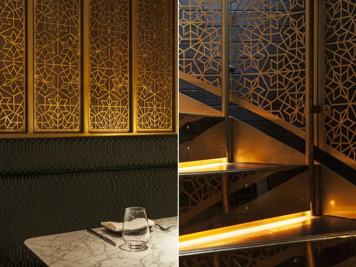 Indian Accent Restaurant By Designlsm London Uk