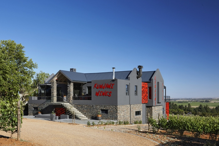kunjani wines estate by haldane martin stellenbosch south africa