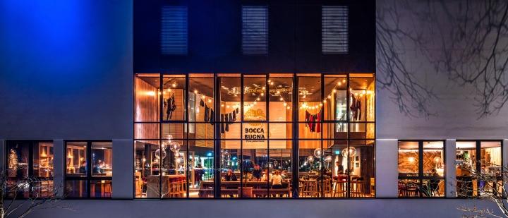 187 Lobby Amp Bocca Buona Restaurant In Park Inn Radisson
