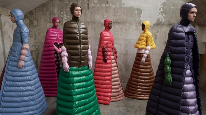 moncler collections at milan fashion week milan italy