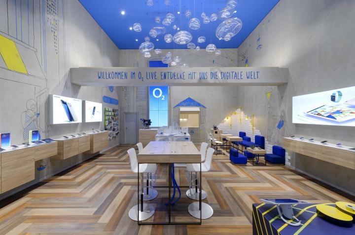 o2 live flagship store by hartmannvonsiebenthal frankfurt germany. Black Bedroom Furniture Sets. Home Design Ideas