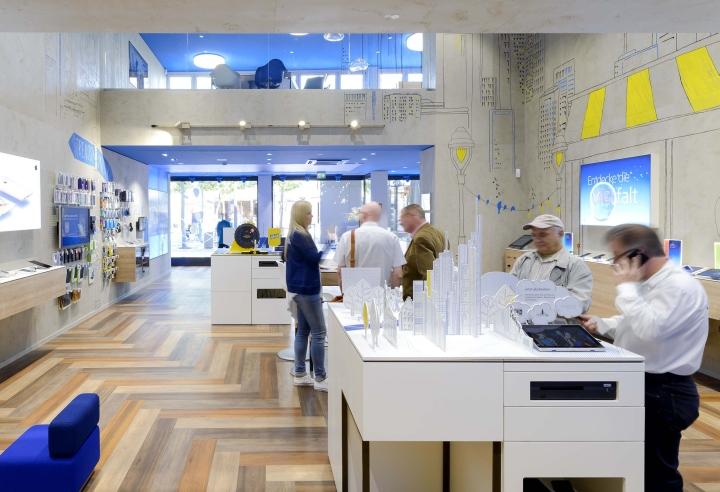 o2 live flagship store by hartmannvonsiebenthal frankfurt germany retail design blog. Black Bedroom Furniture Sets. Home Design Ideas