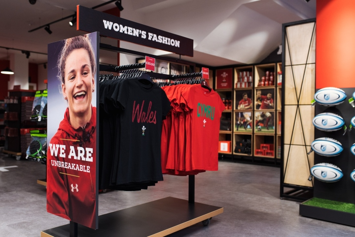 Welsh Rugby Union store soft launch in partnership with Fanatics - 25th January 2018