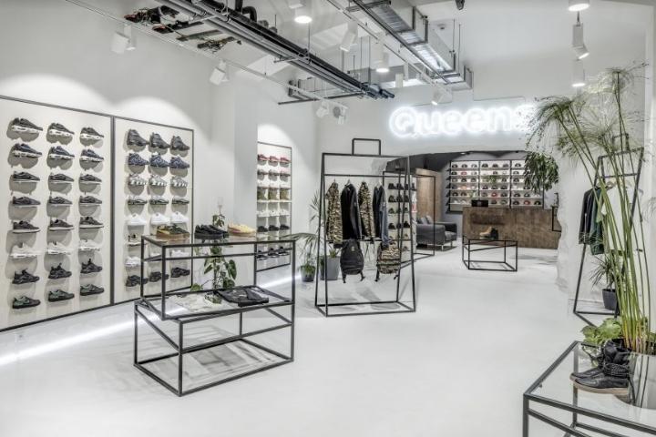 Queens flagship store by boris klimek and lenka damová prague