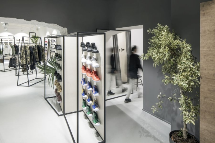 Queens flagship store by boris klimek and lenka damová prague