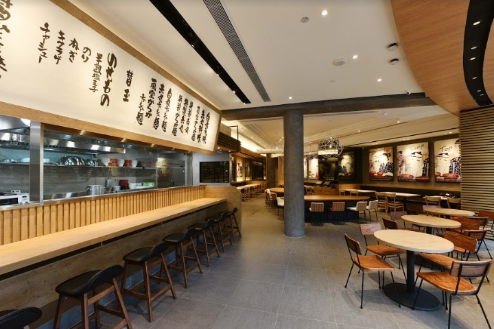Ramen Ippudo Kuro Obi By Uni Plan Pte Ltd Marina Bay Sands